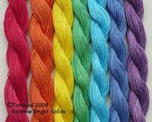 Rainbow Bright Solids RED 20